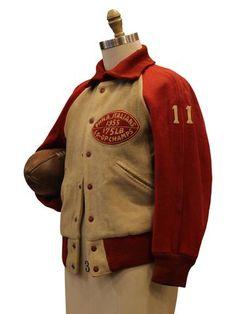 1955 Philadelphia Italians All Wool Varsity Jacket Vintage Jacket, Vintage Denim, Classic Outfits, Cool Outfits, Varsity Letterman Jackets, Triumph Bikes, American Dress, Men's Fashion Brands, Vintage Fashion Photography