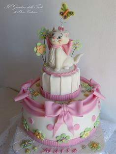 Marie, sweet kitty from Aristocats! — Disney Themed Cakes