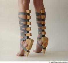 Barefoot heels?