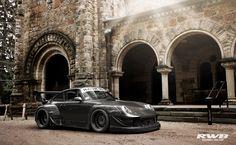 Amazing photo!  Porsche RWB 993