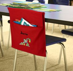1000 ideas about School Chair Pockets on Pinterest
