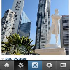 Sir Stamford Raffles founded Singapore in 1819 Credits: @benpeh0818 www.instagram.sg