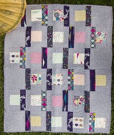 East West Quilt by | Cloud9 Fabrics, via Flickr