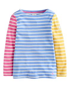 "#Joules Jersey Shirt ""Marina"" - € 21,95 - Wikimo Kindermode, Kinder Shirt, bunt gestreift by Tom Joule"