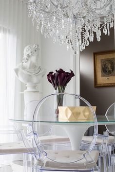 Dining Photos Ghost Chair Design Ideas, Pictures, Remodel, and Decor - page 12