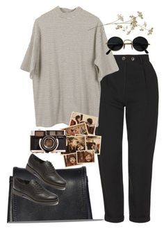 """Untitled #8819"" by nikka-phillips ❤ liked on Polyvore featuring Topshop and Rockport"