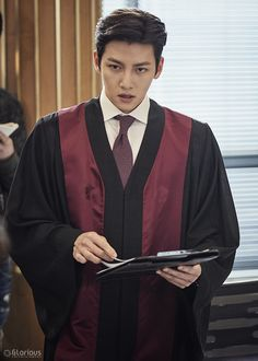 Ji Chang Wook in Suspicious Partner Korean Male Actors, Asian Actors, Korean Celebrities, Ji Chang Wook 2017, Ji Chang Wook Healer, Ji Chang Wook Photoshoot, Ji Chan Wook, Suspicious Partner, W Two Worlds