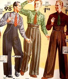 A mulher e as calças nos anos 40