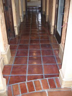 How to Refinish Old Mexican Tile Floors | Future house ideas ...
