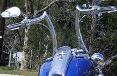 Harley Davidson News – Harley Davidson Bike Pics Bobber Handlebars, Motos Bobber, Ape Hanger Handlebars, Ape Hangers, Bobber Motorcycle, Harley Davidson Chopper, Harley Davidson Motorcycles, Triumph Chopper, Custom Harleys