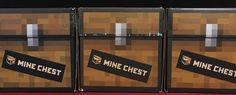 Minecraft Mine Chest First Three Months Complete - Contains Adult Large T-Shirts #Minecraft