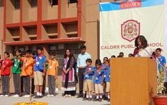 Investiture Ceremony at CPS Ghatlodia
