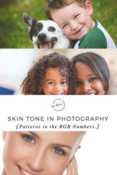 Good skin tone in photography: examples of 10 different skin tones of varying ethnicities and how the RGB numbers work for each type. via @DigiPhotog4Moms Photography Articles, Photography Tips For Beginners, Photography Lessons, Photoshop Photography, Photography Backdrops, Photography Tutorials, Digital Photography, Free Photography, Photoshop Elements Tutorials