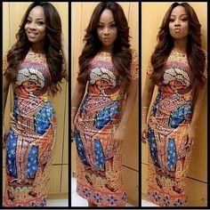 Long Ankara Gown 2016  - #1 Nigeria Style Blog