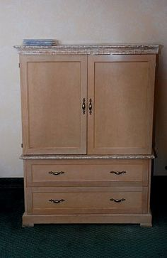 How To Convert A TV Armoire Into A Sewing Station