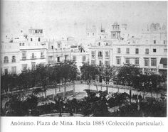 Blog del Jardi: Plaza de Mina de Cádiz, su historia Mina, Cadiz, Plaza, Granada, Paris Skyline, Travel, Outdoor, Blog, Antique Photos