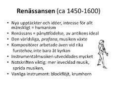 Bildresultat för renässansen musik