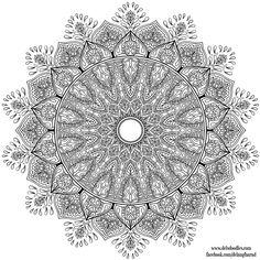 Krita Mandala 32 by WelshPixie