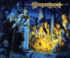 Dragonlance is an amazing world to explore.    http://www.amazon.com/Dragons-Autumn-Twilight-Dragonlance-Chronicles/dp/0786915749