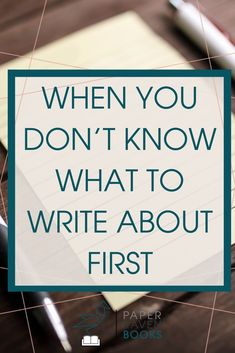 Struggling to decide what to write about? If you have multiple great ideas and need help knowing which idea to write about first, this exercise can help! Check it out here! #writingtips #writingideas