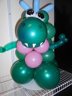We can make all kinds of balloon sculptures. Do you have a character you need made out of balloons for a party or event? Let us know! http://www.balloon-notes.com/balloon-sculptures.html