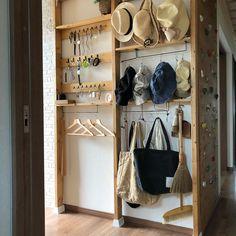 Ideas For Diy Room Storage Ideas Bedrooms Shoe Racks Diy Interior, Interior Design, Room Closet, Diy Garage, Easy Diy Crafts, Home Organization, Storage Spaces, Storage Ideas, Ladder Decor