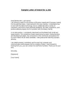 Formal Cover Letter  Best  Formal Resignation Letter Sample