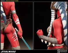 Sideshow Collectibles proudly presents the Shaak Ti Premium Format Figure from LucasArts' breakthrough Star Wars video game, The Force Unleashed.  Sculpted in h