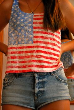 Looks like I know what I'm wearing on the 4th of July this year!