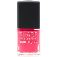 Lane Bryant Tropical Pink nail lacquer found on Polyvore