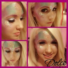Under the sea mermaid magic! Danielle from Arrowhead did this look! #halloween…