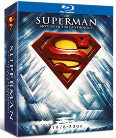 PRICE DROP The Superman Motion Picture Anthology 1978-2006 Blu-ray Set £15.90