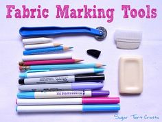 Which fabric marking tool to use on your sewing project?