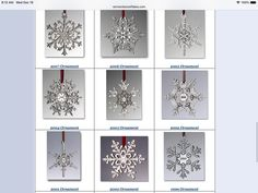 Still time to shop for #Christmas! #Pewter #Snowflake #Ornaments from #Vermont Years 1997-2018 www.vermontsnowflakes.com Snowflake Photos, Snowflake Ornaments, Snowflakes, Snowflake Bentley, Snow Fun, Skiers, Vermont, Pewter, Gifts For Kids