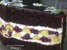 Вишня в шоколаді | DreamFood Russian Desserts, Dessert Bread, How Sweet Eats, Homemade Cakes, Recipies, Food And Drink, Cooking Recipes, Cupcakes, Sweets