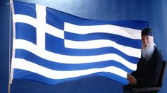 The Greek flag has a cross on it on the top left hand side. The 9 blue and white stripes represent the oceans waves that surround all of their. Greek Independence, County Flags, Greece Flag, Greek Easter, Greek Beauty, Greek Culture, New Thought, Flags Of The World, National Flag