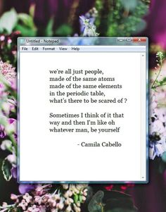 Camila quote