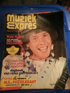 old  pop magazine  from  the  nether lands  muziek  express   I this was  nice     with  Mud