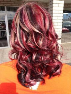 Uploaded by Stephh. Find images and videos about hair, blonde and red on We Hea… Uploaded by Stephh. Find images and videos about hair, blonde and red on We Heart It – the app to get lost in what you love. Hair Color And Cut, Hair Color Dark, Cool Hair Color, Hair Colors, Ombré Hair, New Hair, Creative Hair Color, Red Blonde Hair, Beautiful Hair Color