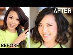 How To Fake Short Hair (Faux Bob) - YouTube