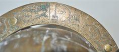 A BRASS CELESTIAL GLOBE Islamic engraved Arabic script & ZODIAC