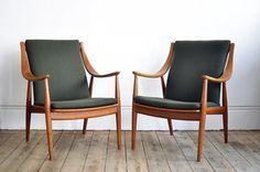 Orla Molgaard-Nielsen Chairs. via The Cools