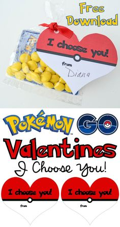 Free Heart Ball Pokémon GO Valentine's Day Cards - Download and print these free Pokémon Valentine Cards to hand out to all your friends this year. Perfect for all those Pokémon card fans in your life. Happy Valentine's Day!