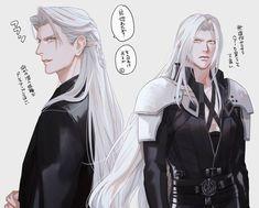 Final Fantasy Artwork, Final Fantasy Characters, Final Fantasy Vii Remake, Fantasy Series, Dark Fantasy Art, Female Characters, Gato Anime, Bishounen, Handsome Anime