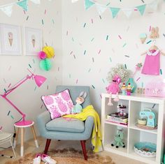 Vivid Wall Decals: Sprinkles Wall Decals