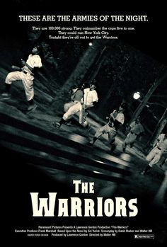 The Warriors directed by Walter Hill (1979)