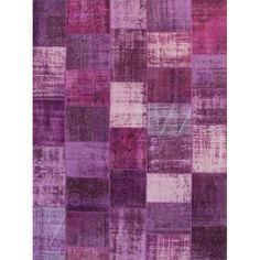Montage Purple Rug
