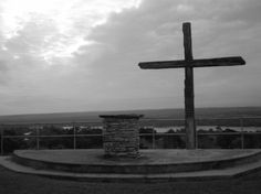 Cross at Church Mountain, Camp Longhorn via The Gracious Posse