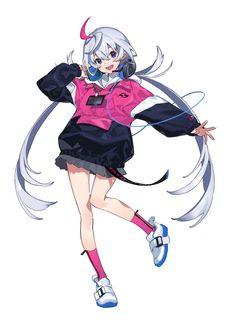 Manga Kawaii, Kawaii Anime Girl, Anime Art Girl, Manga Art, Fantasy Character Design, Character Design Inspiration, Character Concept, Character Art, Animation Character