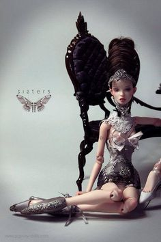 Art doll by Popovy Sis